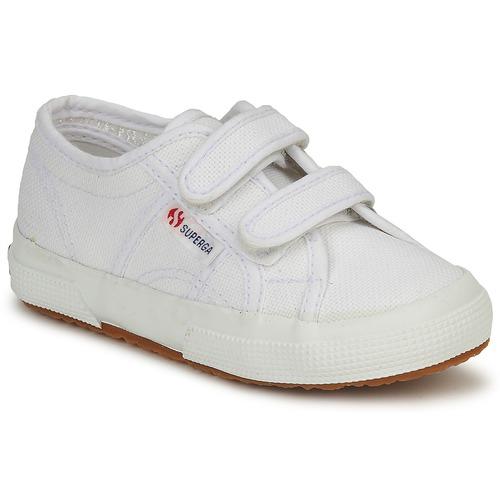 鞋子 儿童 球鞋基本款 Superga 2750 STRAP 白色