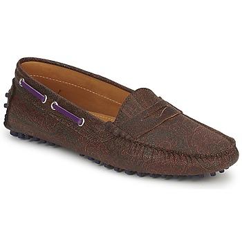 鞋子 女士 皮便鞋 Etro 艾特罗 MOCASSIN 3706 紫罗兰