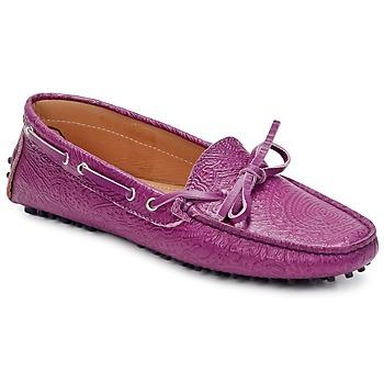 鞋子 女士 皮便鞋 Etro 艾特罗 MOCASSIN 3773 Violet