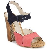 鞋子 女士 凉鞋 John Galliano AN3571 玫瑰色 / 海蓝色