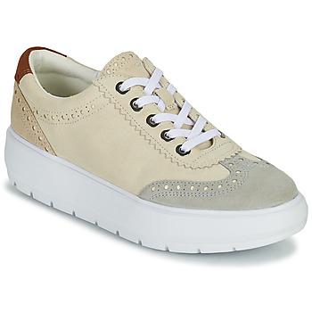 鞋子 女士 球鞋基本款 Geox 健乐士 KAULA 灰色