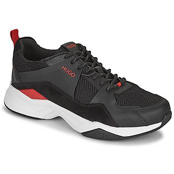 鞋子 男士 球鞋基本款 HUGO - Hugo Boss BLOCK RUNN 黑色