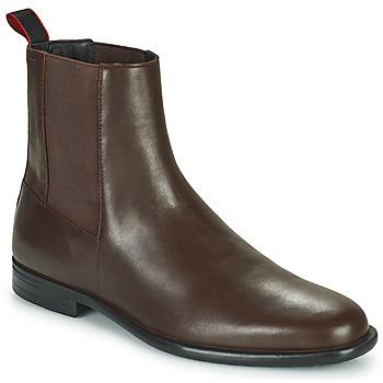 鞋子 男士 短筒靴 HUGO - Hugo Boss KYRON CHEB 棕色