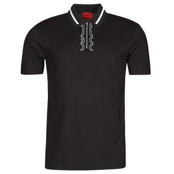 衣服 男士 短袖保罗衫 HUGO - Hugo Boss DOLMAR 黑色 / 白色