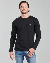 衣服 男士 长袖T恤 BOSS TOGN CURVED 黑色