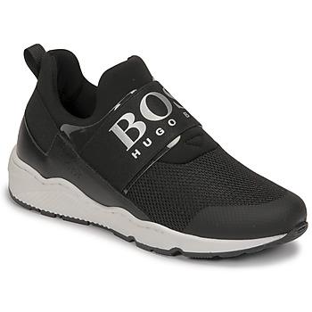 鞋子 男孩 球鞋基本款 BOSS FETINA 黑色