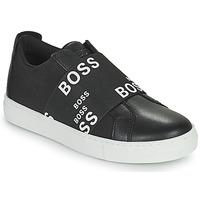 鞋子 球鞋基本款 BOSS KAMILA 黑色 / 白色