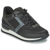 鞋子 男孩 球鞋基本款 BOSS FILEMONA 黑色