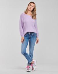 衣服 女士 直筒牛仔裤 Pepe jeans GEN 蓝色