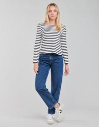 衣服 女士 直筒牛仔裤 Pepe jeans DOVER 蓝色 / Edium