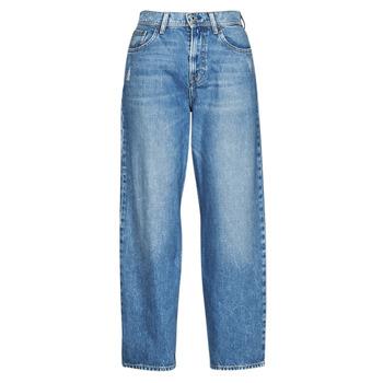 衣服 女士 直筒牛仔裤 Pepe jeans DOVER 蓝色 / 米色