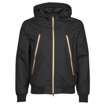 衣服 男士 夹克 EA7 EMPORIO ARMANI TRAIN CORE ID 黑色 / 金色