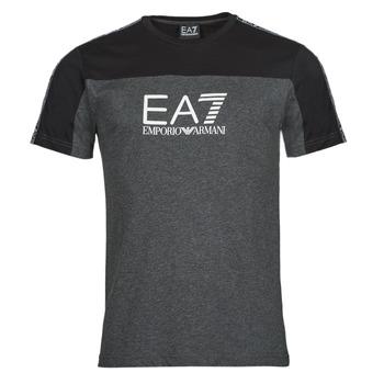 衣服 男士 短袖体恤 EA7 EMPORIO ARMANI TRAIN ATHLETIC 黑色