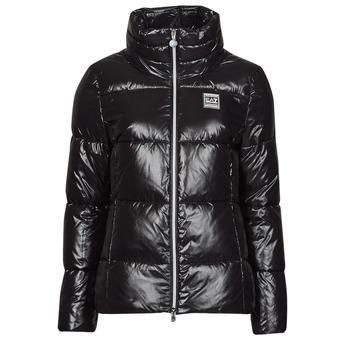 衣服 女士 羽绒服 EA7 EMPORIO ARMANI MOUNTAIN W ECO 黑色