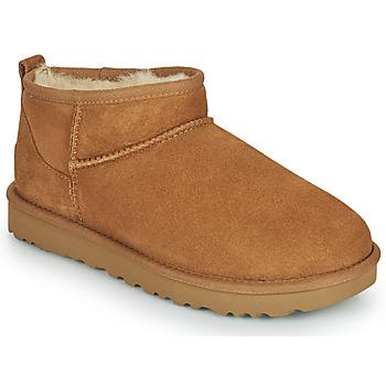 鞋子 女士 短筒靴 UGG CLASSIC ULTRA MINI 驼色