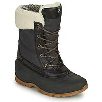 鞋子 女士 雪地靴 KAMIK SNOWPEARL 黑色
