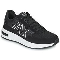 鞋子 男士 球鞋基本款 EMPORIO ARMANI EAX MALIKA 黑色 / 白色