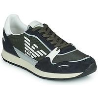 鞋子 男士 球鞋基本款 Emporio Armani ANIMA 黑色