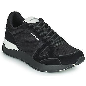 鞋子 男士 球鞋基本款 Emporio Armani BALISTA 黑色