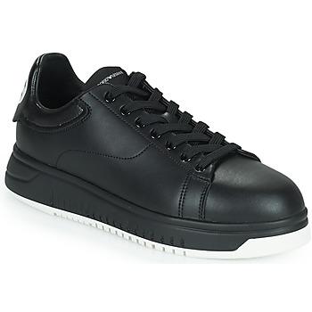 鞋子 男士 球鞋基本款 Emporio Armani ANITY 黑色