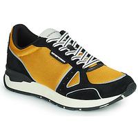 鞋子 男士 球鞋基本款 Emporio Armani TREMMA 黑色 / 黄色