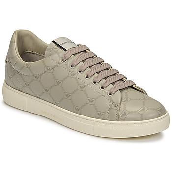 鞋子 女士 球鞋基本款 Emporio Armani DANSSE 米色 / 白色