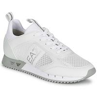 鞋子 球鞋基本款 EA7 EMPORIO ARMANI BLACK&WHITE LACES 白色