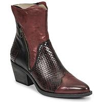 鞋子 女士 短靴 Casta DOST 波尔多红