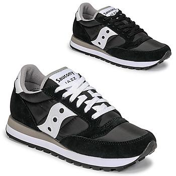 鞋子 球鞋基本款 Saucony JAZZ ORIGINAL 黑色 / 白色
