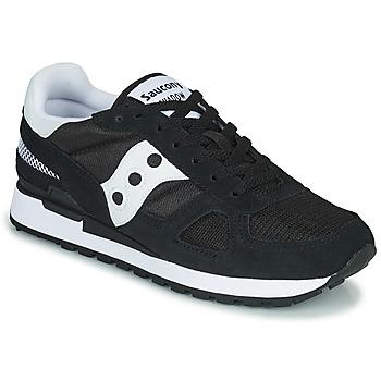 鞋子 男士 球鞋基本款 Saucony SHADOW ORIGINAL 黑色 / 白色