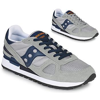 鞋子 男士 球鞋基本款 Saucony SHADOW ORIGINAL 灰色
