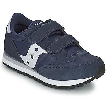 鞋子 男孩 球鞋基本款 Saucony JAZZ DOUBLE HL 海蓝色 / 白色