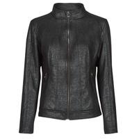 衣服 女士 皮夹克/ 人造皮革夹克 Desigual COMARUGA 黑色