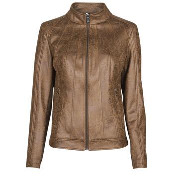 衣服 女士 皮夹克/ 人造皮革夹克 Desigual COMARUGA 棕色