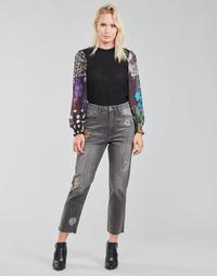 衣服 女士 直筒牛仔裤 Desigual LAGUN 灰色