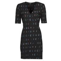 衣服 女士 短裙 Desigual SOLE 黑色