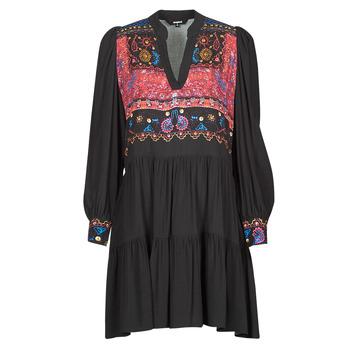 衣服 女士 短裙 Desigual SOLSONA 黑色