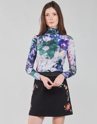 衣服 女士 长袖T恤 Desigual INAYA 多彩