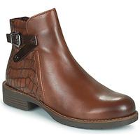鞋子 女士 短筒靴 Marco Tozzi DEMINA 棕色