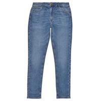 衣服 女孩 牛仔铅笔裤 Pepe jeans PIXLETTE HIGH 蓝色