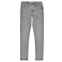 衣服 女孩 牛仔铅笔裤 Pepe jeans PIXLETTE HIGH 灰色