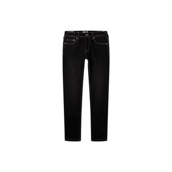 衣服 男孩 牛仔铅笔裤 Pepe jeans FINLY 蓝色 / Fonce