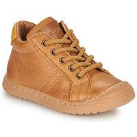 鞋子 男孩 短筒靴 Bisgaard THOR 棕色