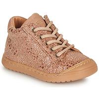 鞋子 女孩 短筒靴 Bisgaard THOR 玫瑰色 / 金色