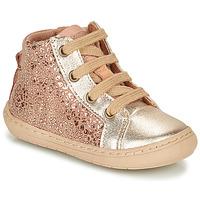 鞋子 女孩 短筒靴 Bisgaard VILLUM 玫瑰色