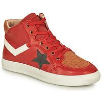 鞋子 男孩 高帮鞋 Bisgaard ISAK 红色