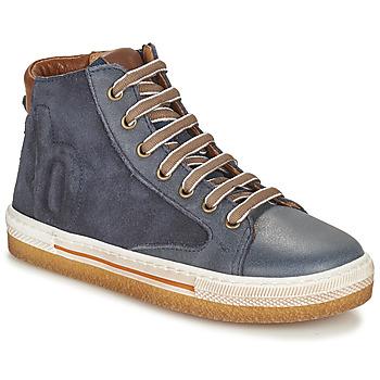 鞋子 男孩 高帮鞋 Bisgaard GEORG 海蓝色
