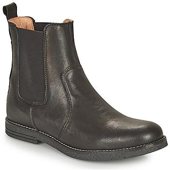 鞋子 女孩 短筒靴 Bisgaard NANNA 黑色