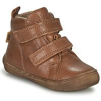 鞋子 男孩 高帮鞋 Bisgaard DEE 棕色