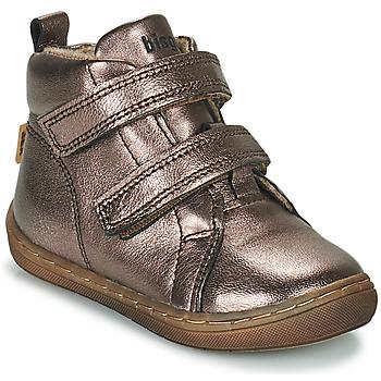 鞋子 女孩 高帮鞋 Bisgaard DEE 银灰色